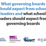 Latest edition of School Leaders and Governing Boards: What do we expect of each other? post image